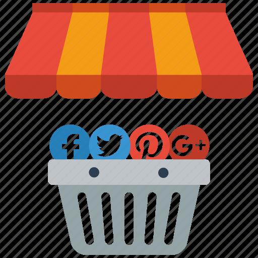 marketing, media, seo, social icon