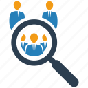 search, seo, team icon