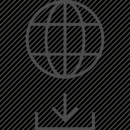 Earth, global, globe, internet, upload manager, world icon - Download on Iconfinder