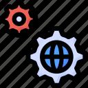cog, configuration, gears, options, seo, settings, world