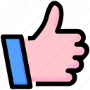 hand, like, marketing, seo, thumb