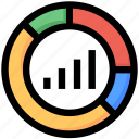 bar chart, development, diagram, graph, seo, seo graph icon