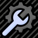 gear, optimization, preference, seo, setting, web, wrench icon