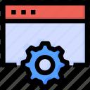 browser, development, gear, optimization, seo, website