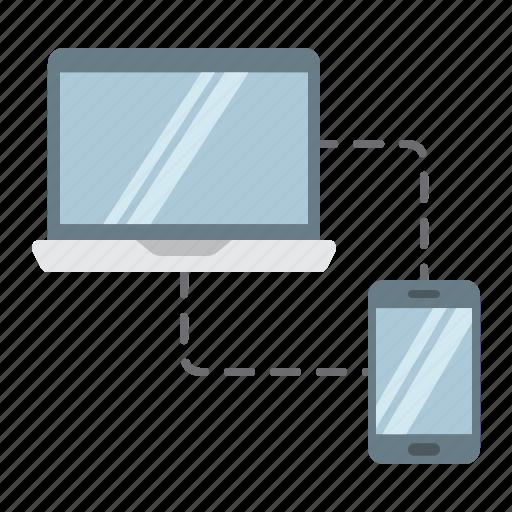 design, device, laptop, responsive, seo, sync, web icon