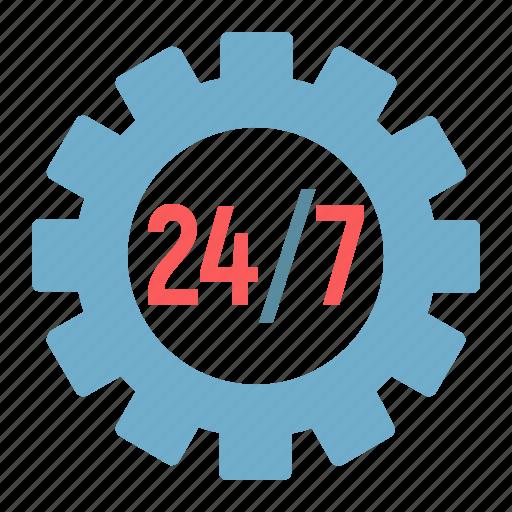 cogwheel, development, gear, seo, service, support, technical icon