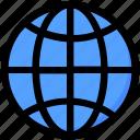 globe, international, internet, seo, world icon