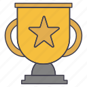 cup, star, trophy icon