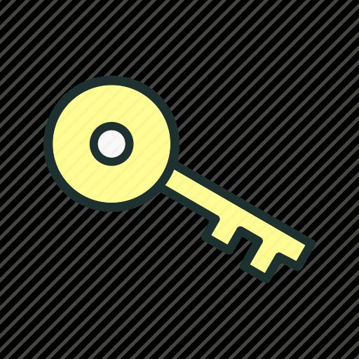 key, lock, locked, password icon