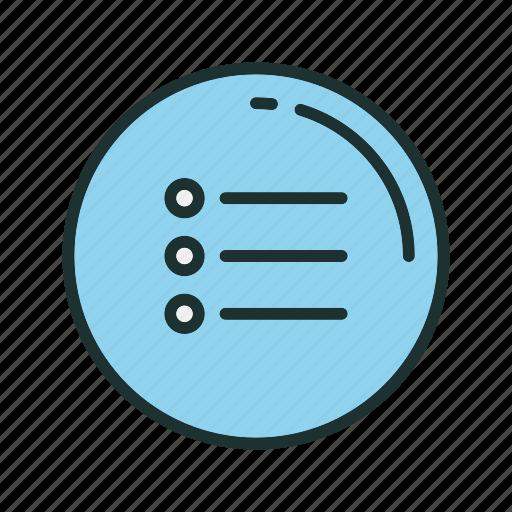 checklist, list, menu icon