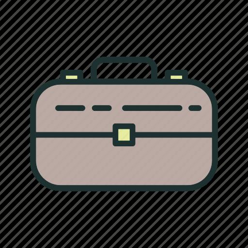 bag, briefcase, business icon