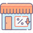 in, promotions, store icon