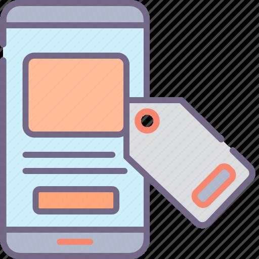 device, marketing, mobile icon