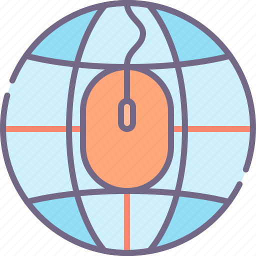 management, online, presence icon