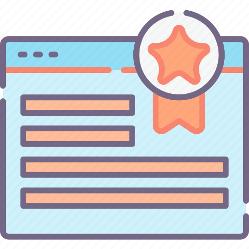 page, quality, website icon