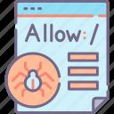 crawler, robot, script, txt icon