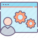 course, seo, training icon