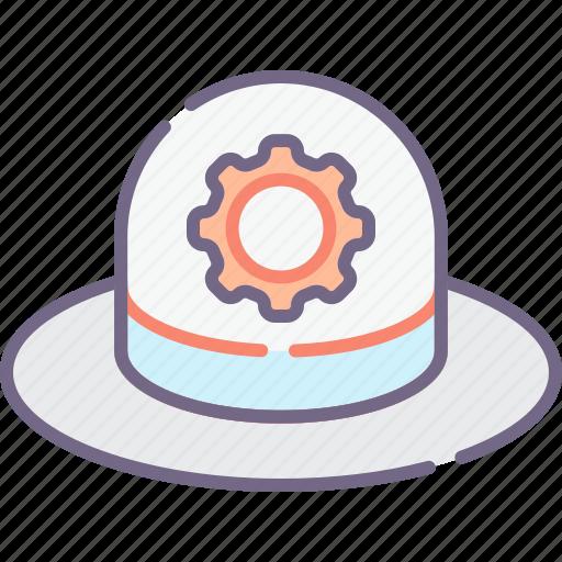 hat, seo, white icon