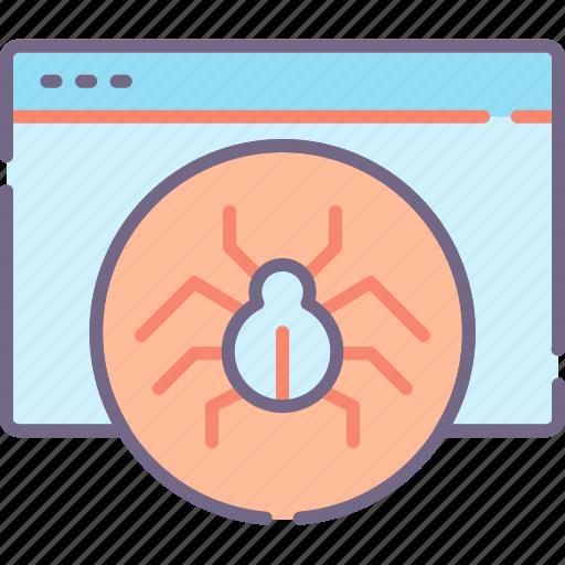 Crawler, spider, spiderbot, web icon - Download on Iconfinder