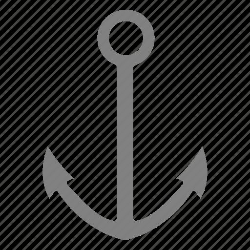 anchor, seo, web icon