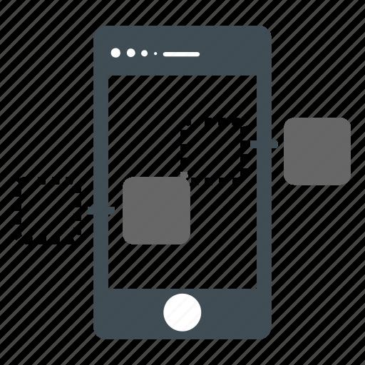 mobile, phone, seo, smart, web icon