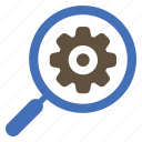 gear, seo, setting, web icon
