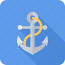 anchor, business, sea, seafaring, seo icon