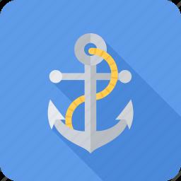anchor, business, sea, seafaring, seo icon