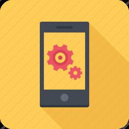 app, mobile, optimization, phone, seo icon