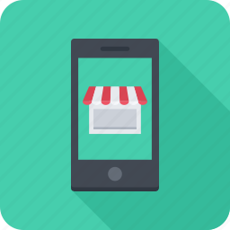 app, mobile, phone, shop, store icon