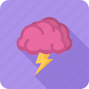 brain, brainstorm, concept, creative, idea, storm icon