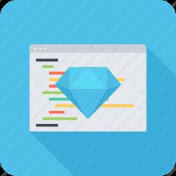 clean, code, program, programming, seo, site icon