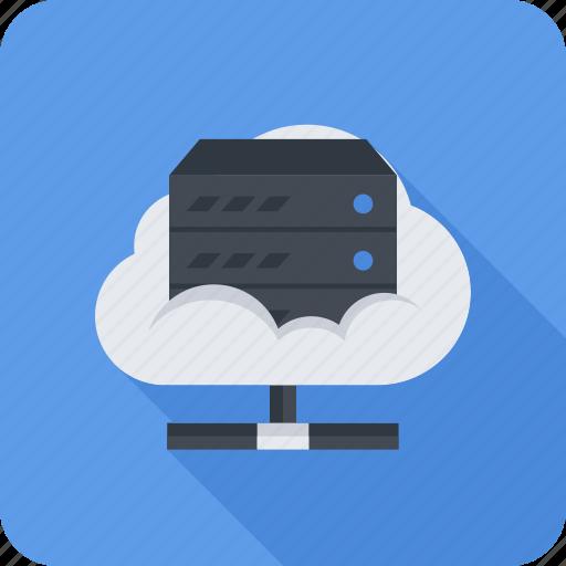 cloud, data, data store, repository, seo, server icon