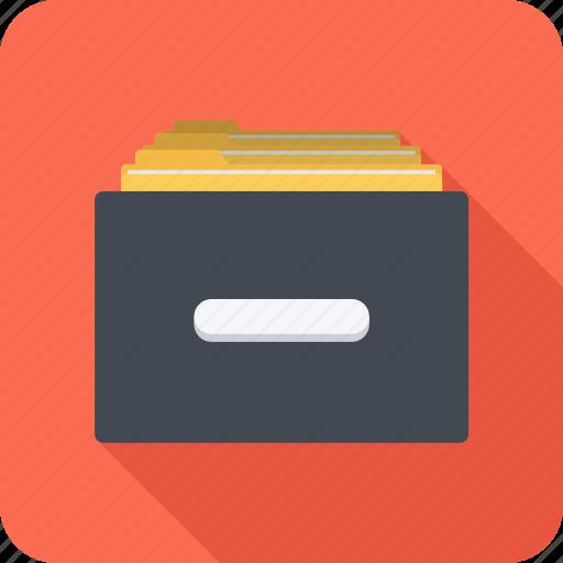 archive, cupboard, data, file, repository, storage icon