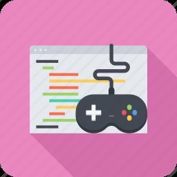 code, development, game, program, programming icon