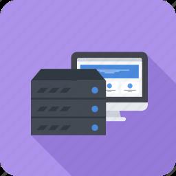 domain, hosting, provider, site, web icon