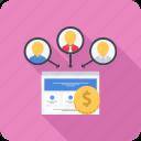 lead, leads, money, profit, site icon