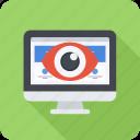 eye, monitor, monitoring, seo, site icon