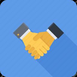 business, hand, handshake, partner, partnership icon