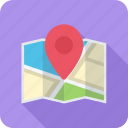 location, map, optimization, pin, place