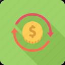 investment, money, profit, return, turnover