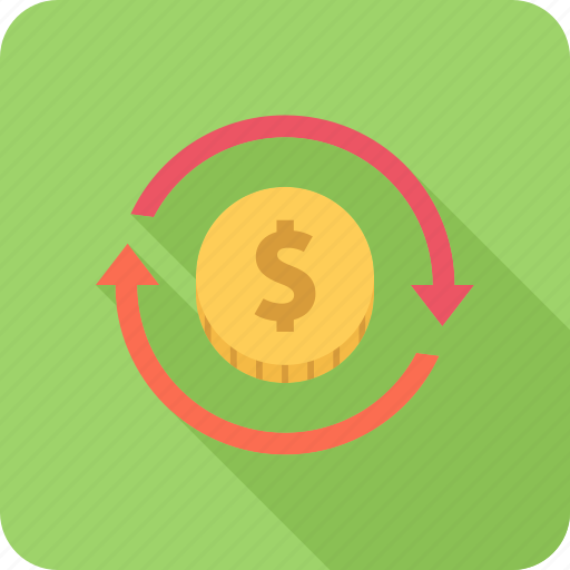 investment, money, profit, return, turnover icon