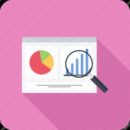 analytics, graph, monitoring, schedule, seo, statistics icon