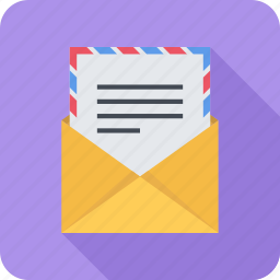 email, envelope, mail, message, sending icon