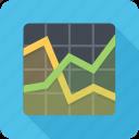 analytics, graph, schedule, statistics