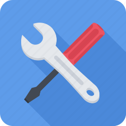screwdriver, support, technical, wrench icon