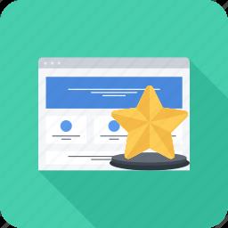 award, rating, site, top, web, win, winner icon