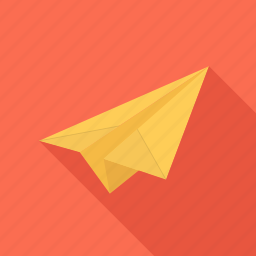 airmail, airplane, e-mail, mail, paper icon