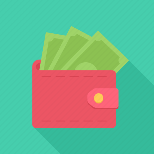 bank note, cash, money, payment, purse icon