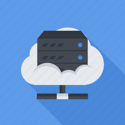 cloud, data, data store, repository, seo, server icon